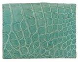 Tiffany & Co. Crocodile Fold-Over Cardholder