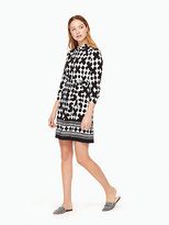 Kate Spade Lantern silk shirtdress