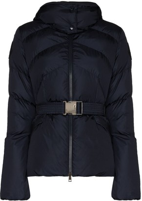 Moncler Aloes belted down puffer jacket
