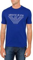 Armani Jeans Eagle Motif Logo Tee