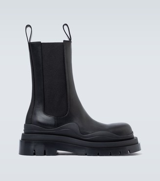 Bottega Veneta Tire leather boots