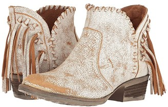 Corral Boots Q0004 (Tan/White) Women's Boots