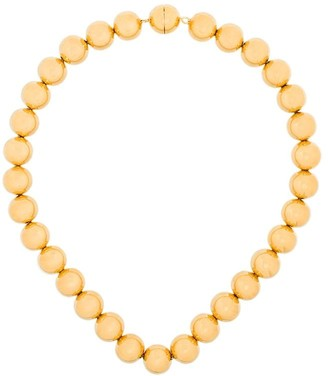 Jil Sander Gold-Tone Beaded Necklace