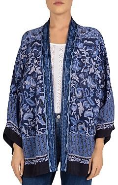 Gerard Darel Andrea Kimono-Style Printed Cardigan