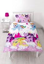 My Little Pony 'Equestria' Single Duvet Set - Repeat Print Design