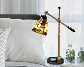 "Astoria Grand Finke Baroque Accent 23"" Desk Lamp"