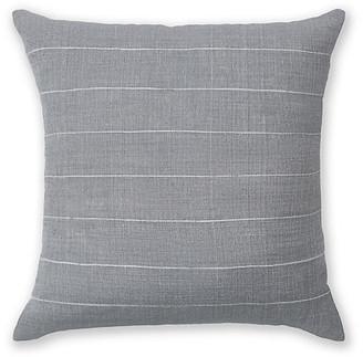 Bole Road Textiles Melkam 18x18 pillow - Mist