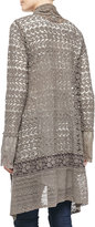 Johnny Was Collection Lacy Crochet Jacket