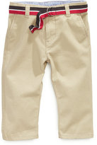 Tommy Hilfiger Baby Pants, Baby Boys Chester Khaki Pants