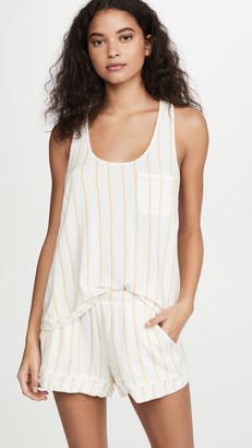 Eberjey Summer Stripes Pajama Tank