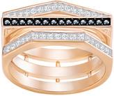 Swarovski Geometry Ring, Black