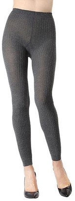 Me Moi Footless Ribbed Sweater Tights