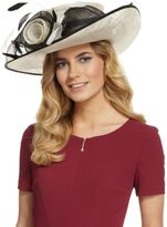 Marks and Spencer Big Rose & Mesh Wide Brim Hat