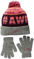 Nike Attitude Knit Beanie Gloves Set Beanies