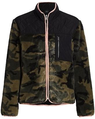 Rails Wesley Camouflage Quilt-Patch Fleece Jacket