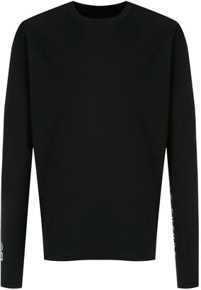 OSKLEN graphic-print long-sleeve T-shirt