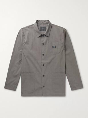 Saturdays NYC Lido Logo-Appliqued Stretch Cotton-Blend Chore Jacket - Men - Gray