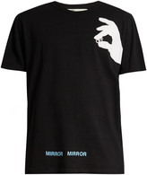 Off-White Hand Off cotton-jersey T-shirt