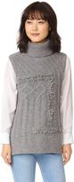 Derek Lam 10 Crosby Oversized Turtleneck Sweater