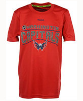 Reebok Boys' Washington Capitals TNT Freeze Reflect T-Shirt