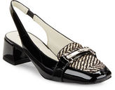 Anne Klein Abbie Calf Hair Sling-Backs