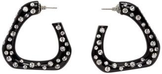 Simon Miller Black Triangle Hoop Earrings