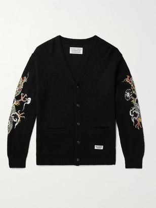Wacko Maria + Tim Lehi Embroidered Knitted Cardigan