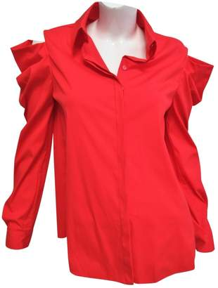 Vionnet \N Red Cotton Top for Women