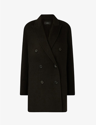 Joseph Clavel double-breasted wool and cashmere coat