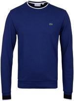 Lacoste Sapphire Blue Crew Neck Sweater
