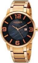 Akribos XXIV Men's AK566RG Essential Slim Swiss Quartz Stainless Steel Bracelet Watch