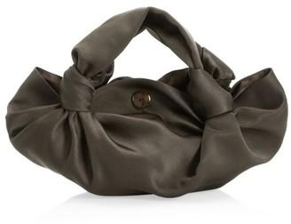 The Row Ascot Silk Hobo Bag