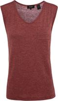 Oxford Alexa Cap Sleeve T-Shirt