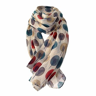 Humeng Women Shawl Scarves Fashion Sketch Trees Long Soft Wrap Scarf All-match Shawl Gift Ideas for Women