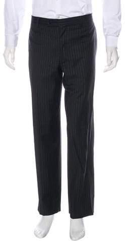 Dolce & Gabbana Striped Wool Pants