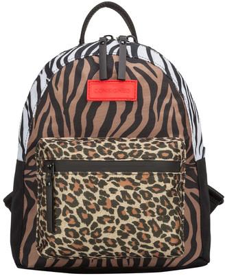 Consigned Jagra Multi Animal Print Backpack