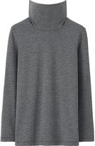 Uniqlo Kids HEATTECH Long Sleeve Turtleneck T-Shirt