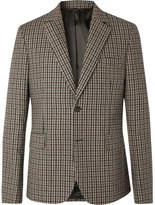 Acne Studios Brown Jason Checked Wool-Blend Blazer