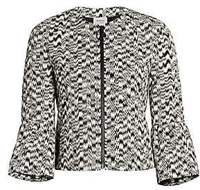 Akris Punto Women's Ikat Printed Bell-Sleeve Jacket