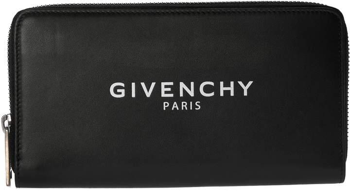 Givenchy Logo Zip-around Wallet