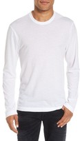 James Perse Men's Melange Knit Long Sleeve T-Shirt