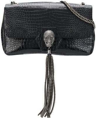 Philipp Plein Crystal-Skull Shoulder Bag