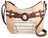 Bolo Hobo Bags Stone Grey Solid