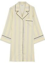 Ganni Bergamot Striped Silk Tunic