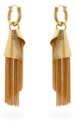 Ellery Amplifier Spiral Chain Earrings - Womens - Gold