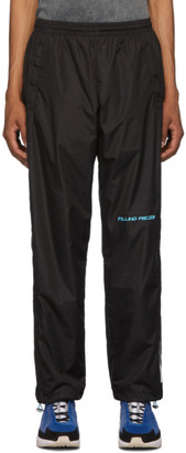 Filling Pieces Black Diagonal Sport Pants
