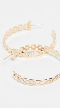 Jennifer Zeuner Jewelry Portia Hoop Earrings