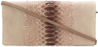 Maison Martin Margiela Pre-Owned Snake Effect Clutch Bag