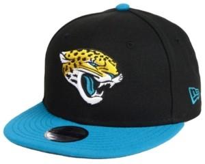 New Era Boys' Jacksonville Jaguars Two Tone 9FIFTY Snapback Cap