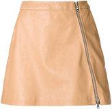 GUILD PRIME zip up skirt - women - Lamb Skin - 36